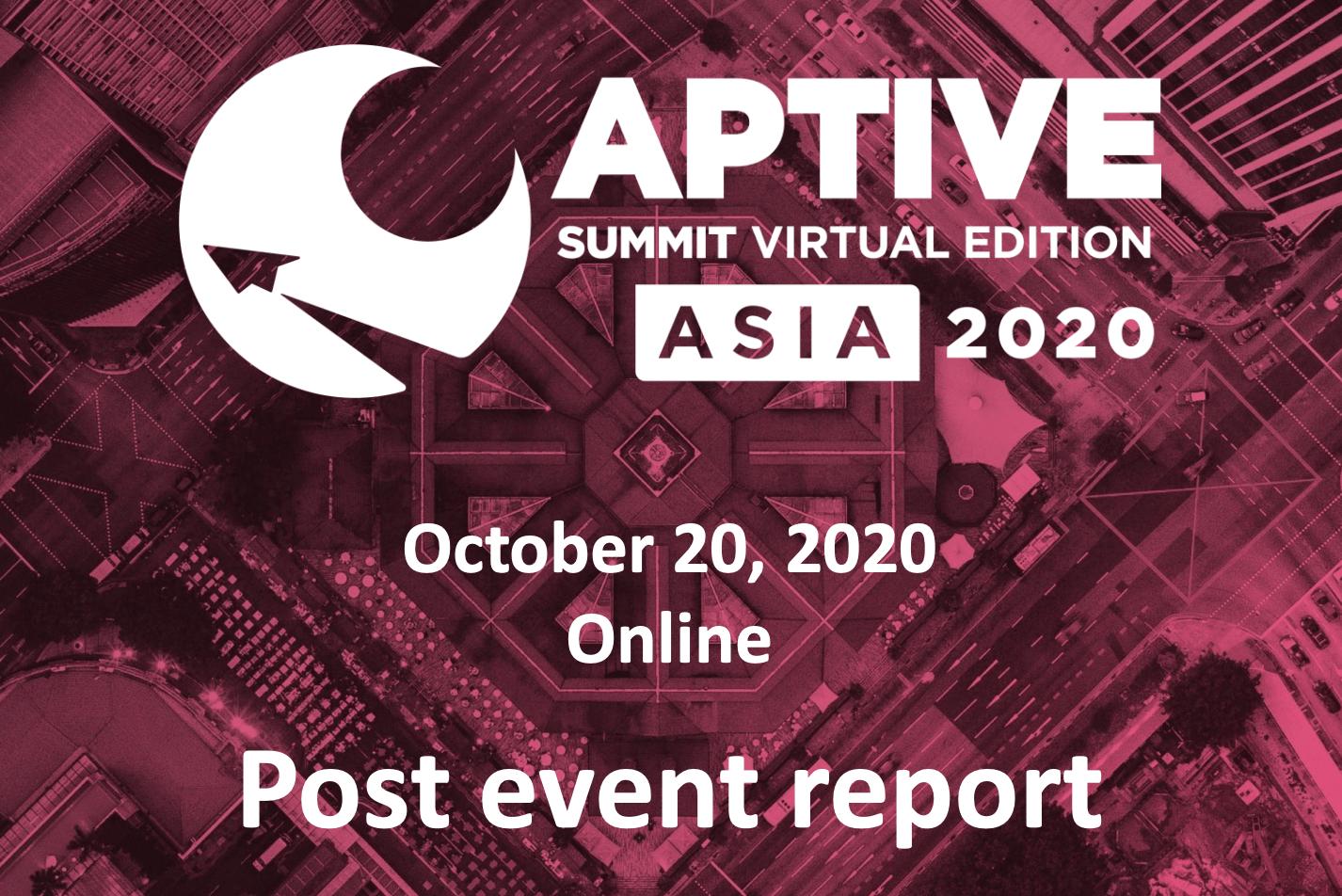 Captive Summit ASIA 2020
